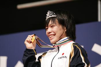 日本人20人目の世界女王誕生 初...