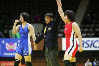 全日本選手権優勝選手】女子67kg...